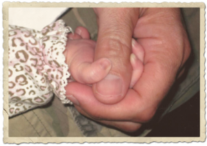 """Baby's hand"" picture"