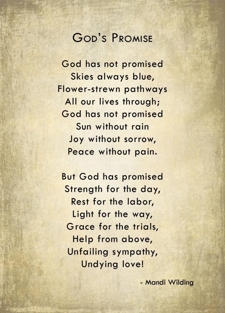 gods promise poem