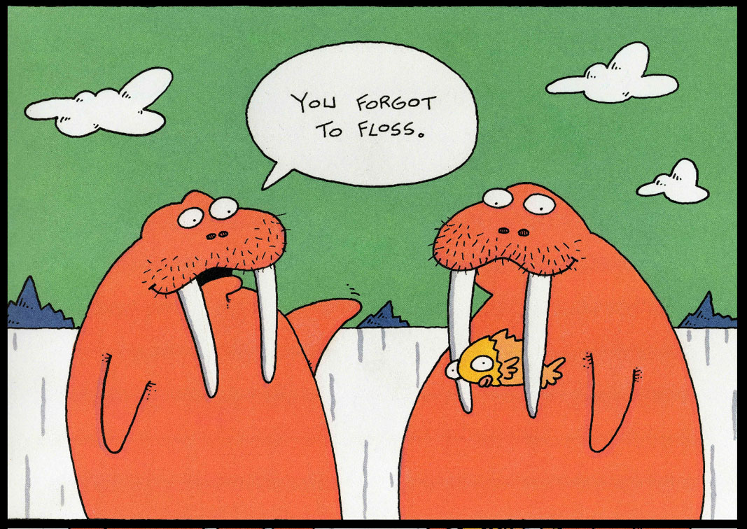 Dream big then work hard to make your dreams come true - Funny dental pictures cartoons ...