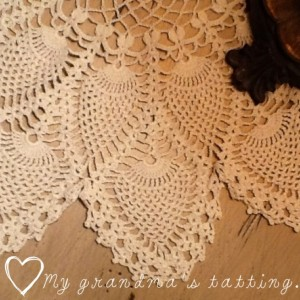 Vintage tatting lace
