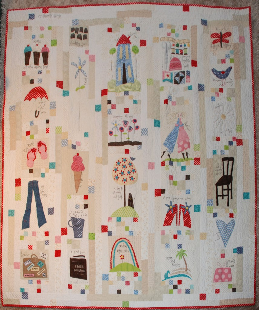 My Favorite Things Quilt