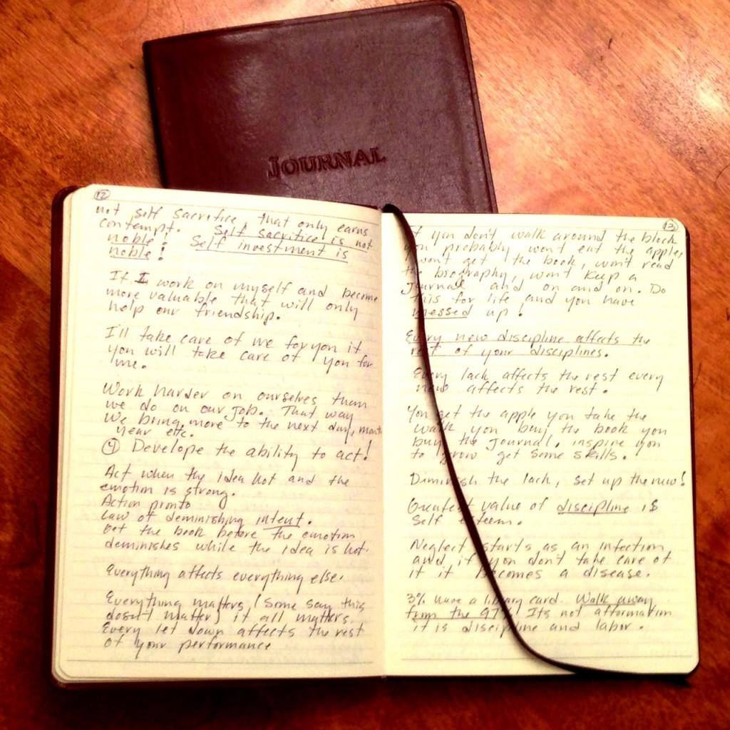 Vintage journal