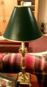 """G"" is for Green lamp!  www.mytributejournal.com"