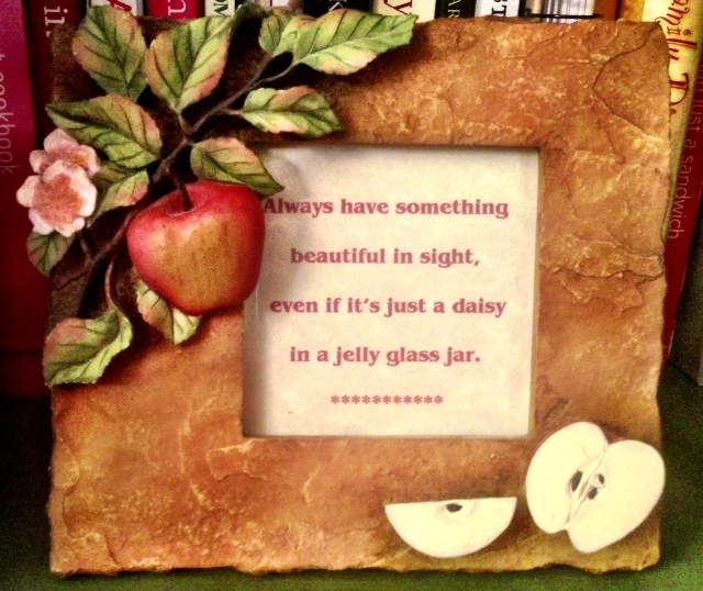 """Daisies in a Jelly Jar"" quote www.mytributejournal.com"