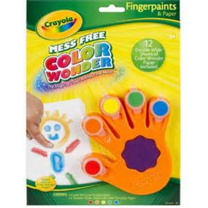 Crayola Invisible Finger Paints! www.mytributejournal.com