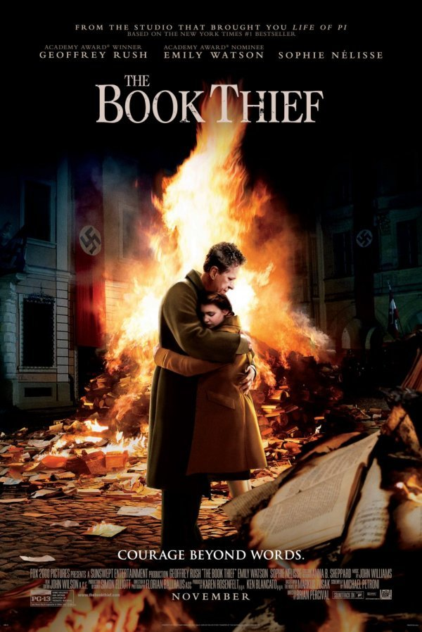Book Thief Moive Poster www.mytributejournal.com