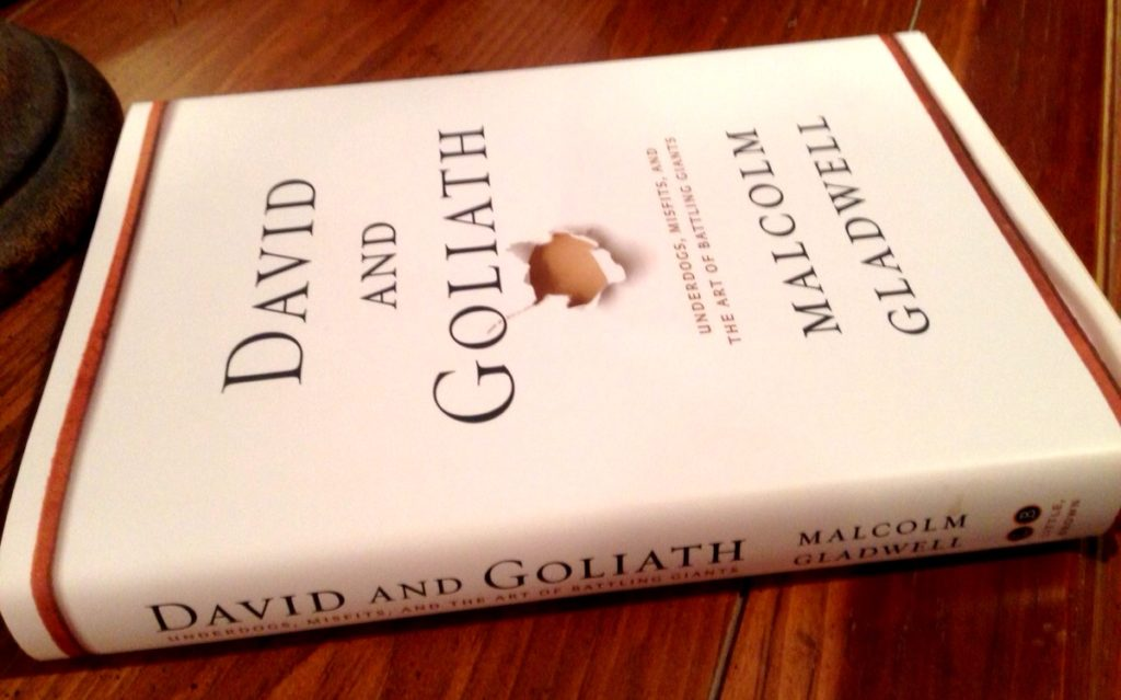 David and Goliath by Malcom Gladwell www.mytributejournal.com