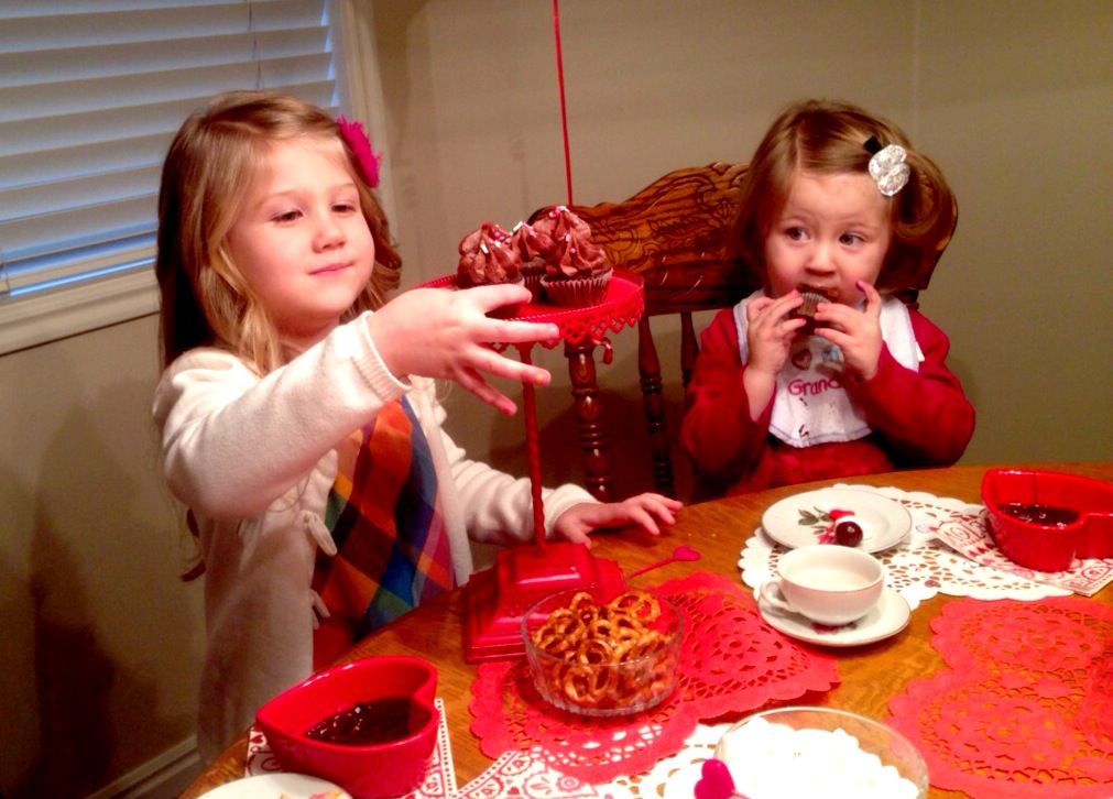 Valentine's Day Tea Party!