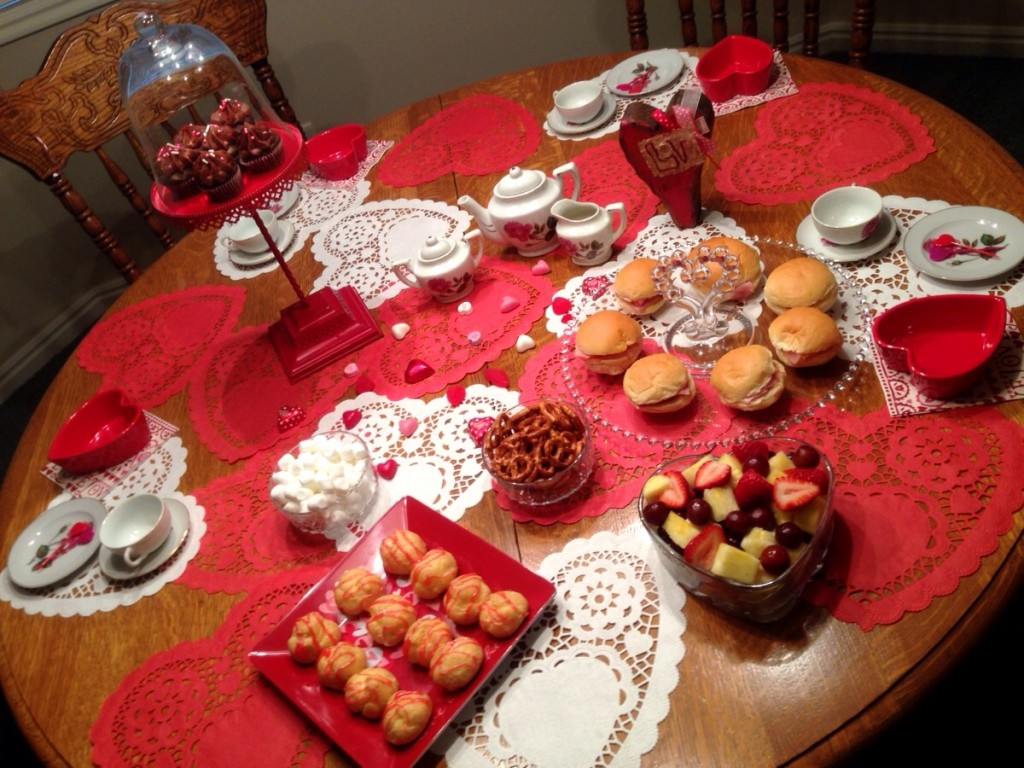 A Valentine Tea Party! www.mytributejournal.com