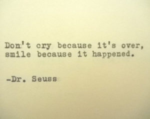 Dr. Suess quote www.mytributejournal.com