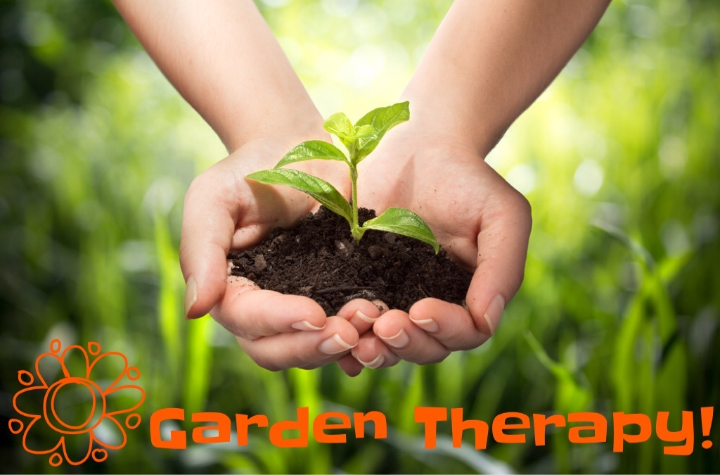 Garden Therapy!  www.mytributejournal.com