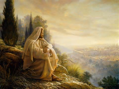 """The Savior""  Greg Olsen art  www.mytributejournal.com"