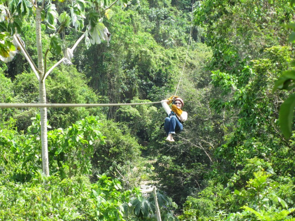 No Worries! Zip lines over Punta Cana Forrest in Dominican Republic. www.mytributejournal.com