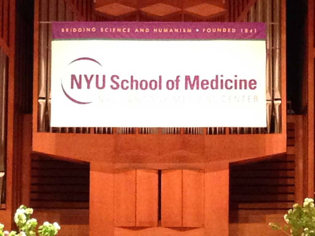 NYU Medical School Graduation 2014 www.mytributejournal.com