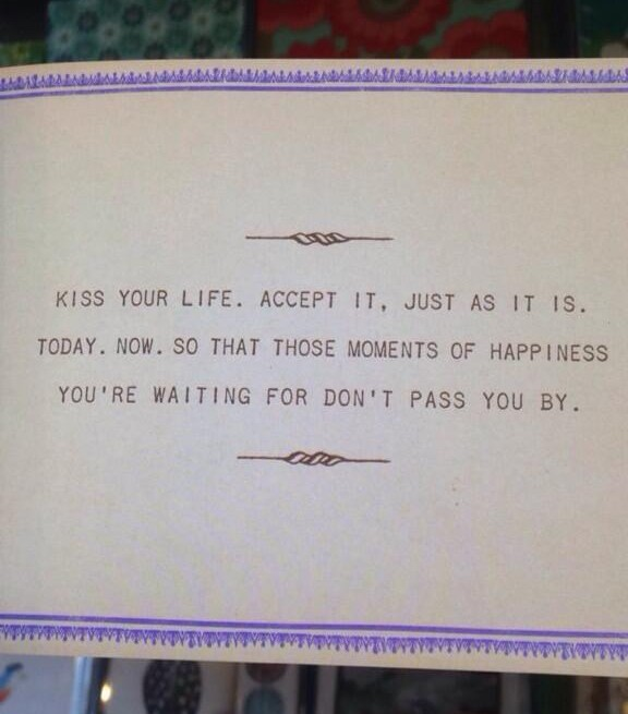 The Happiness Challenge Recap!  Kiss Your Life!  www.mytributejournal.com