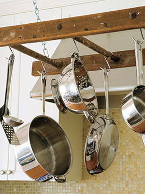 Ladder Pot rack www.mytributejournal.com