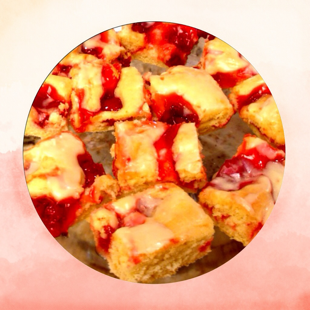 Cherry Dessert Squares. www.mytributejournal.com