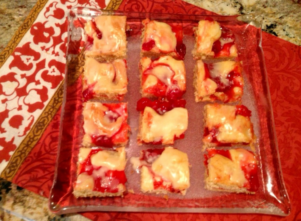 Cherry Dessert Squares www.mytributejournal.com