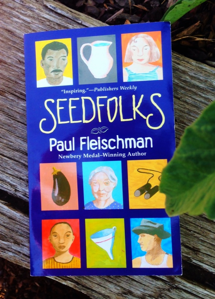 overview of the seedfolks Booklist online book review: seedfolksfleischman, paul (author)illustrated by  judy pedersenmay 1997 80p harpercollins/joanna cotler.