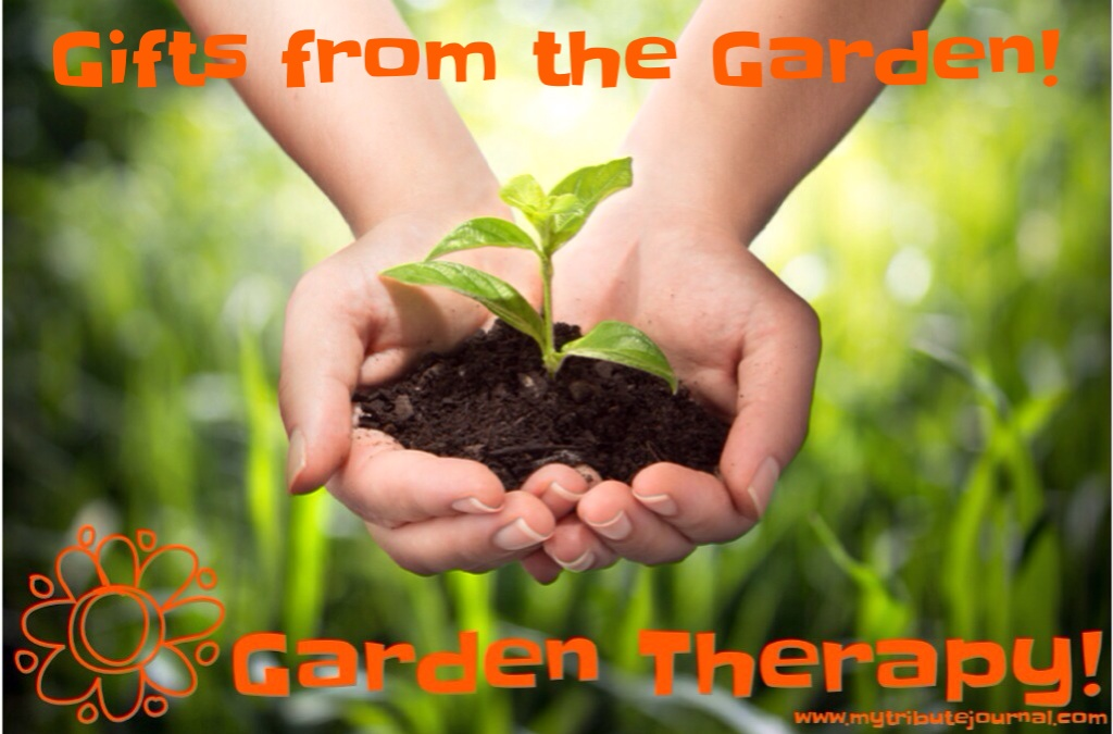 Garden Therapy! Gifts From The Garden! www.mytributejournal.com
