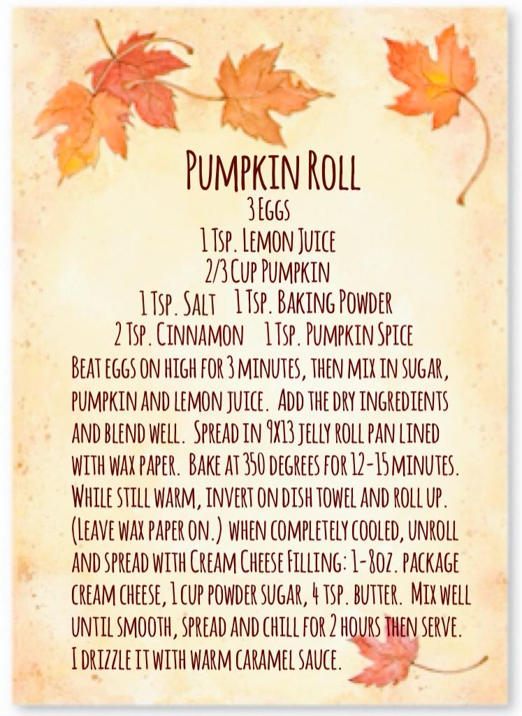 Pumpkin Roll Recipe  www.mytributejournal.com