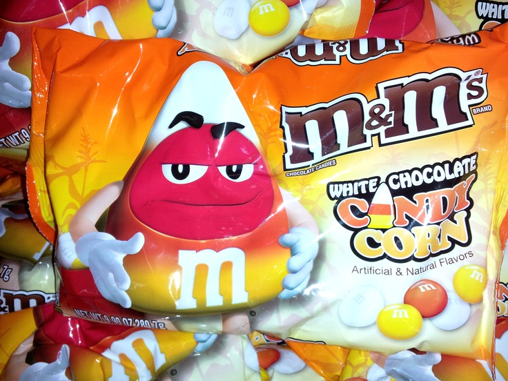 Candy Corn M&M's www.mytributejournal.com