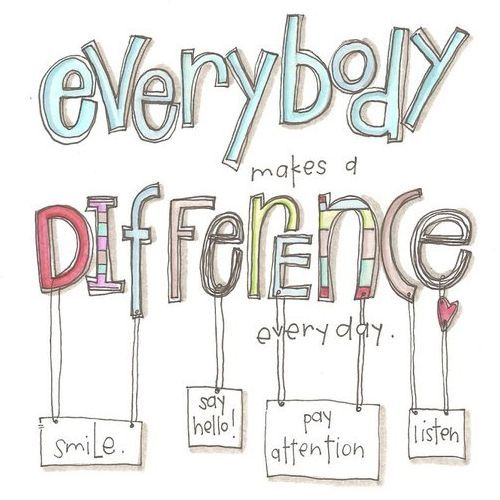 "Quote: Everybody makes a difference."" www.mytributejournal.com"