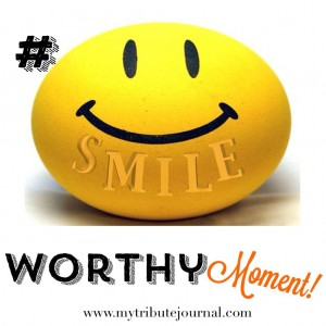 Sharing A Smile Worthy Moment! www.mytributejournal.com