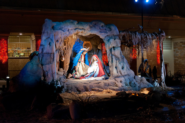 Nativity scene at Temple Square in Salt lake City, Utah. www.mytributejournal.com
