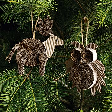 West Elm ornaments www.mytributejournal.com