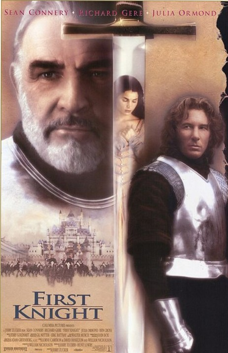 """First Knight"" movie poster www.mytributejournal.com"