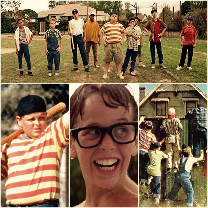 "Scenes from the movie ""The Sandlot""! www.mytributejournal.com"