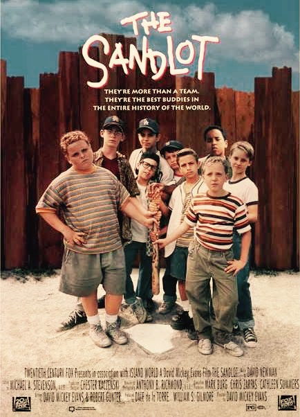 """The Sandlot"" movie poster www.mytributejournal.com"