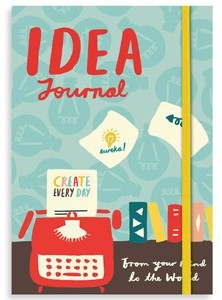 Idea Journal by Galison.  www.mytributejournal.com