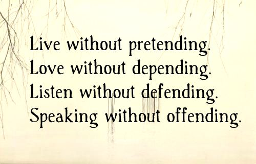 "Love quotes: ""Love Without Pretending"" www.mytributejournal.com"