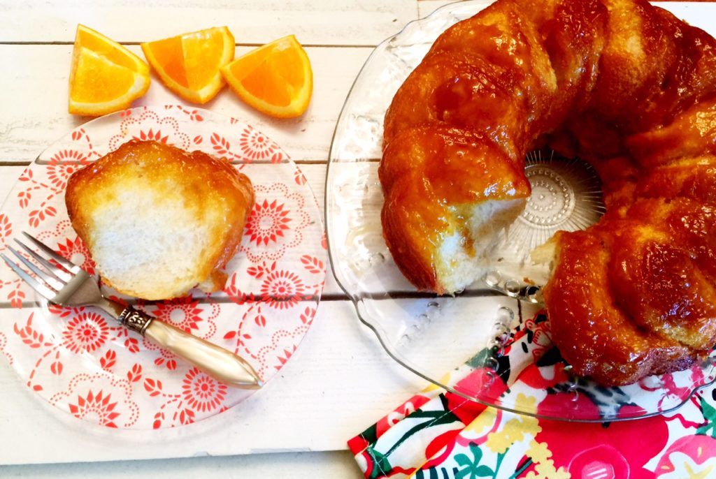 Spring Baking!  Easy Orange Rolls!  www.mytributejournal.com