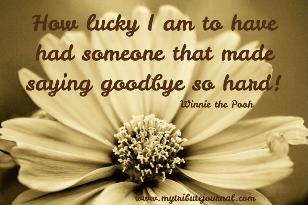 """Thoughts On Motherhood!"" Winnie The Pooh quote www.mytributejournal.com"
