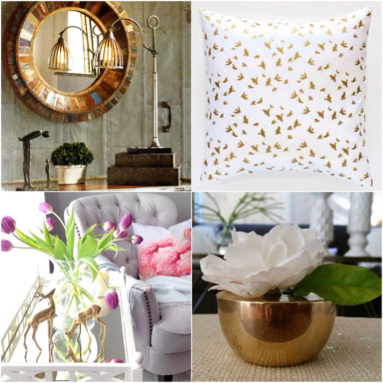 Going For The Gold In Home Decor! www.mytributejournal.com