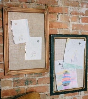 Fun Ways To Display Childrens Artwork! www.mytributejournal.com