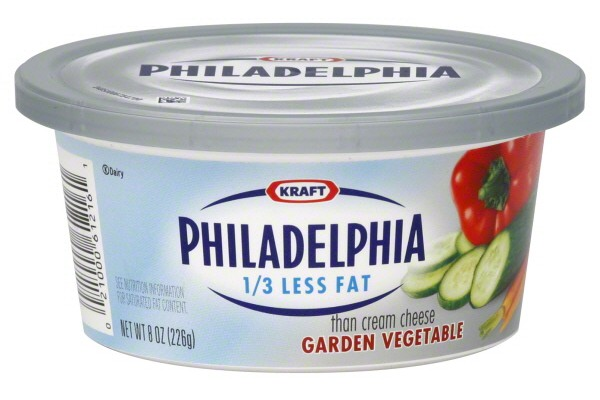 Philadelphia Garden Vegetable Cream Cheese www.mytributejournal.com