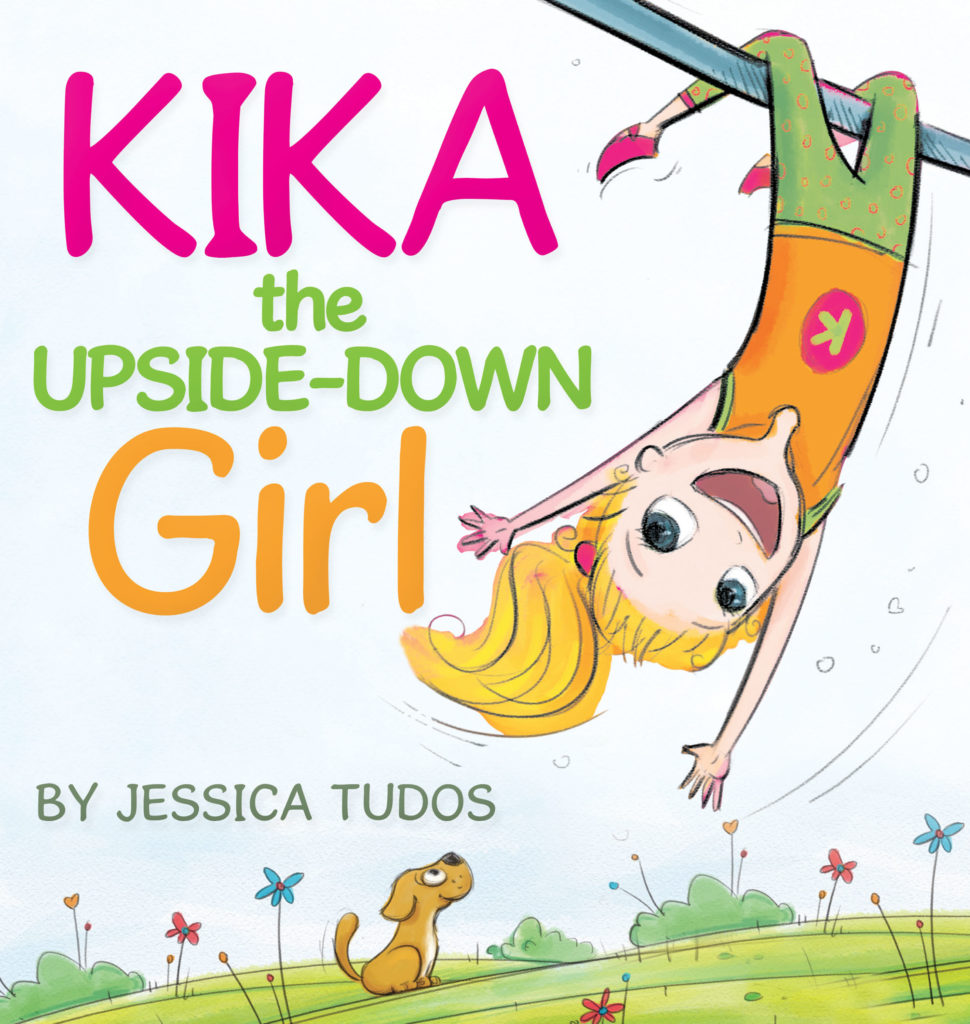 Children's books.  (Kika the Upsid-Down Girl!)  www.mytributejournal.com