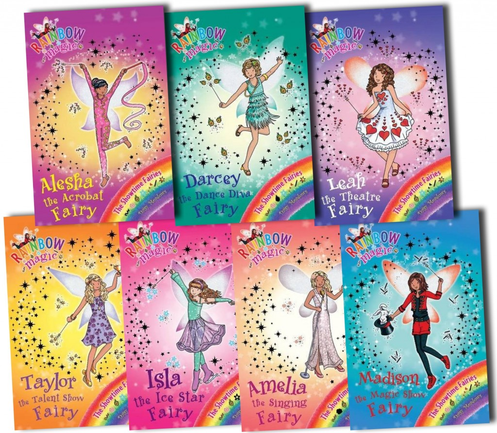 Children's books. (Rainbow Fairies!) www.mytributejournal.com