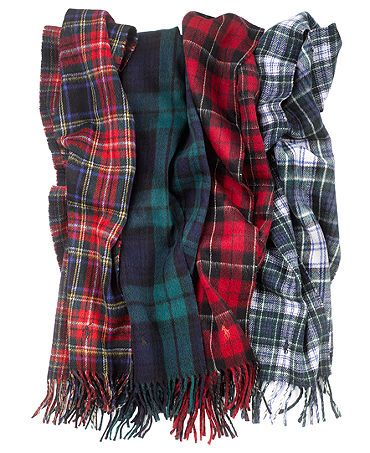 Thankful Giving! (Plaid Scarves)
