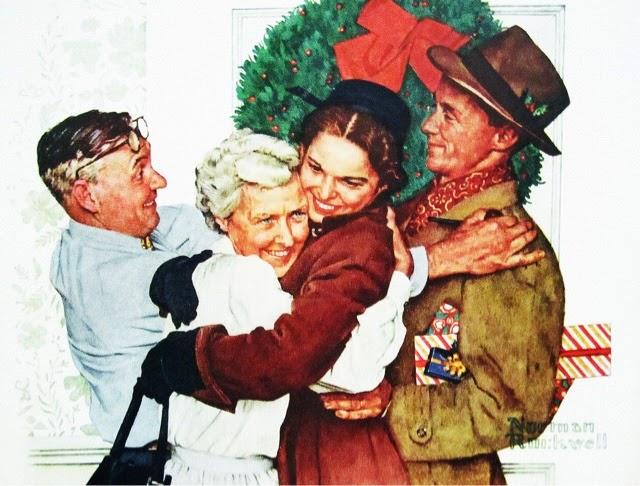 Norman Rockwell Christmas!