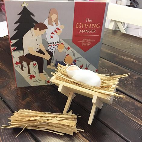 Family Christmas Traditions: Giving Manger Gift Set
