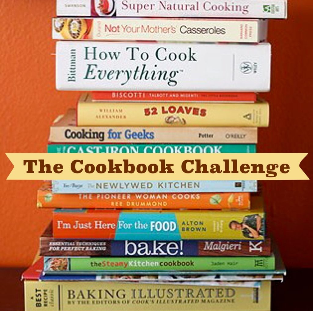 The Cookbook Challenge!