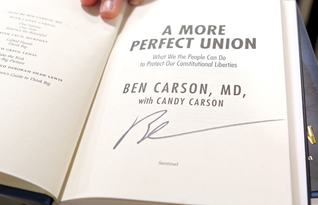 A More Perfect Union by Dr. Ben Carson