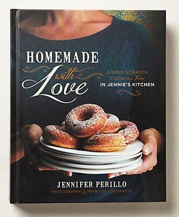 """Homemade with Love"" cookbook by Jennifer Perillo"