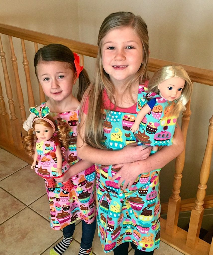 "American Girl dolls. ""Lets Party!"""