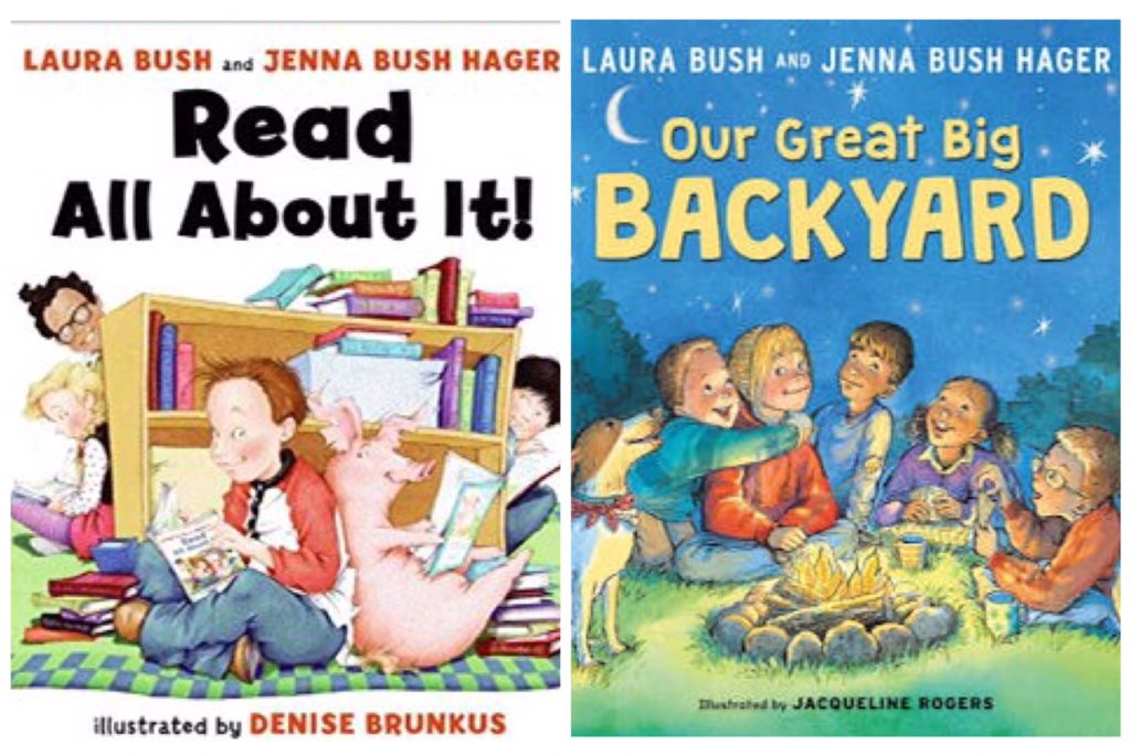 Children's books by Laura Bush.